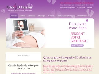 Echo 3D Passion – Spécialiste de l'échographie 3D Affective à Lille
