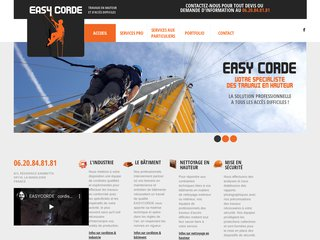 Easycorde – Spécialiste des travaux en hauteur et d'accès difficiles