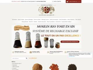 La carte aux epices : Vente d'épices et achat d'epice