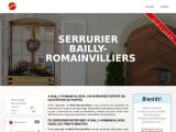 Serrurier Bailly-romainvilliers
