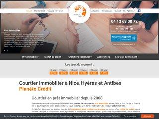 Planete Crédit : crédit immobilier Nice