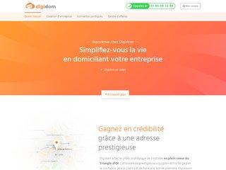 Digidom, centre de domiciliation d'entreprise