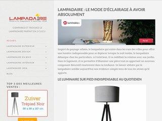 Comparateur de prix pour lampadaires de maison