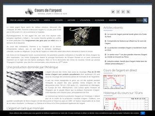 Tout savoir sur l'argent : dernières actualités, cours et tendances