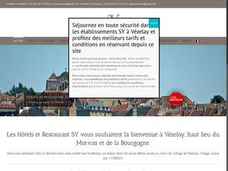 Hôtel-restaurant à Vezelay La Terrasse
