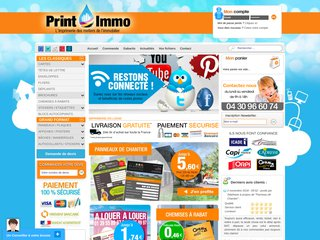 Printimmo, impression panneaux grands formats