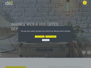 Ideo Point Com - Agence de Communication - Création site web et Impressions publicitaire à proximité de Tours (37)