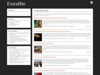 Extrafête : le blog de la fête et de son organisation