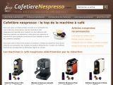Dénichez votre cafetière Nespresso