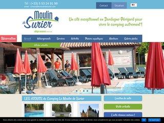Camping 4 étoiles Le Moulin de Surier Perigord