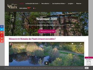 Cabanes dans les arbres : Domaine les Vaulx