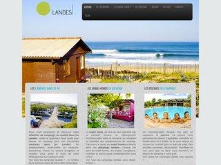 Camping Landes, un annuaire des campings situés sur la côte landaise