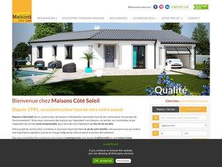 Les modèles de maisons de Maisons Coté Soleil