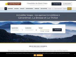 Agence immobilière à Gérardmer : La centrale foncière