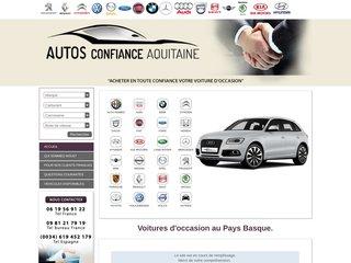 Autos confiance, ventes de véhicules d'occasion au Pays Basque