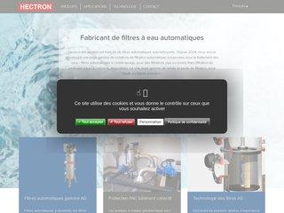 Hectron : la filtration de l'eau
