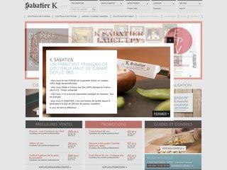 Coutellerie Thiers, Sabatier-K. Couteaux forgés de cuisine et couteau de poche