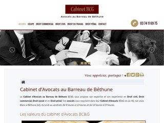Cabinet d'Avocats au Barreau de Béthune