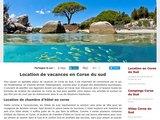 Des hébergements en Corse selon vos désirs