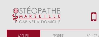 Votre cabinet ostéopathe à Marseille