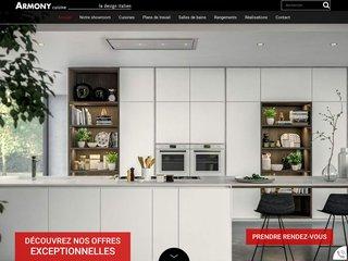 Cuisiniste design Lens (62) : Armony Cuisine
