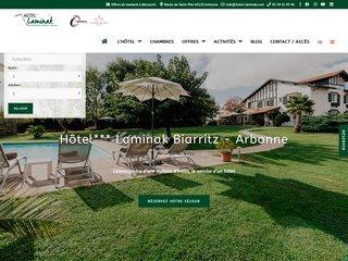 Hôtel Laminak pays basque