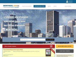 Offre d'emploi à Montréal