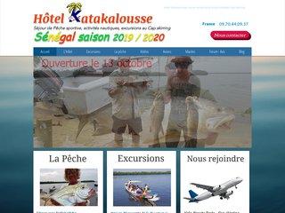 Sénégal club pêche sportive : hôtel Katakalousse