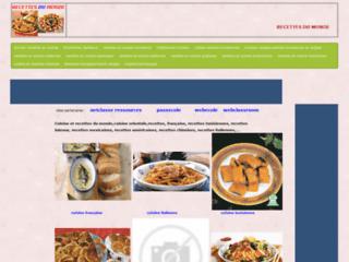 recettes et cuisine du monde