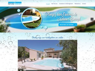 Natura Concept vente et installation de piscine coque à Arles