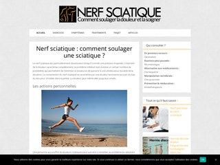 Nerf sciatique :en finir avec le mal de dos