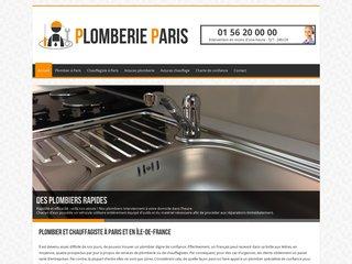 Plombier à Paris, dépannage d'urgence