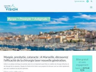 Opération des yeux à Marseille - chirurgie laser - myopie - cataracte - presbytie