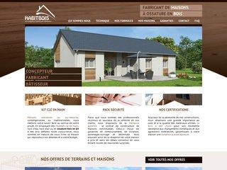 Habitbois.com pour la conception de votre maison en bois