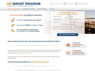 Loi Duflot à Toulouse : l'investissement locatif rentable