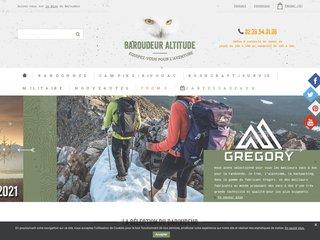 Baroudeur Altitude - Matériel de randonnée, trekking, bushcraft