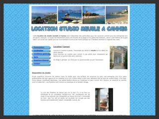 Location de vacances à Cannes avec studio meublé