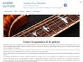Apprendre les gammes de guitare