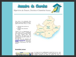 Annuaire de chorales Provence et chant