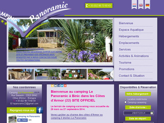 Camping Le Panoramic Cotes d'Armor