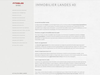 Immobilier Landes 40