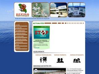 Ecole formation maritime Martinique