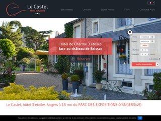 Hôtel Le Castel près d'Angers