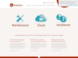 BeProductiv, maintenance et assistance informatique pour les tpe et pme à Lyon et Rhône
