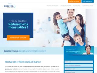 Rachat de crédit en ligne | Excellia Finance