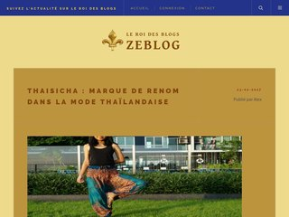 Publiez un article sur le web avec Zeblog