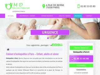 Ostéopathe pour colique du nourrisson  à Paris 8