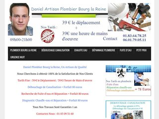 Professionnel plombier Bourg-la-Reine