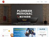 Plombier Mérignac