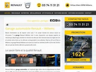 Réparation de votre voiture à Willems